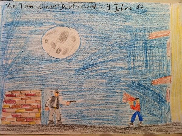 Tom, Age 9 - Tamm, Germany